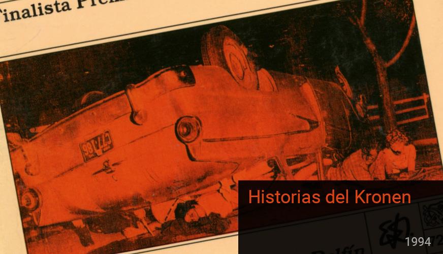 Portad Primera Edición Historias del Kronen