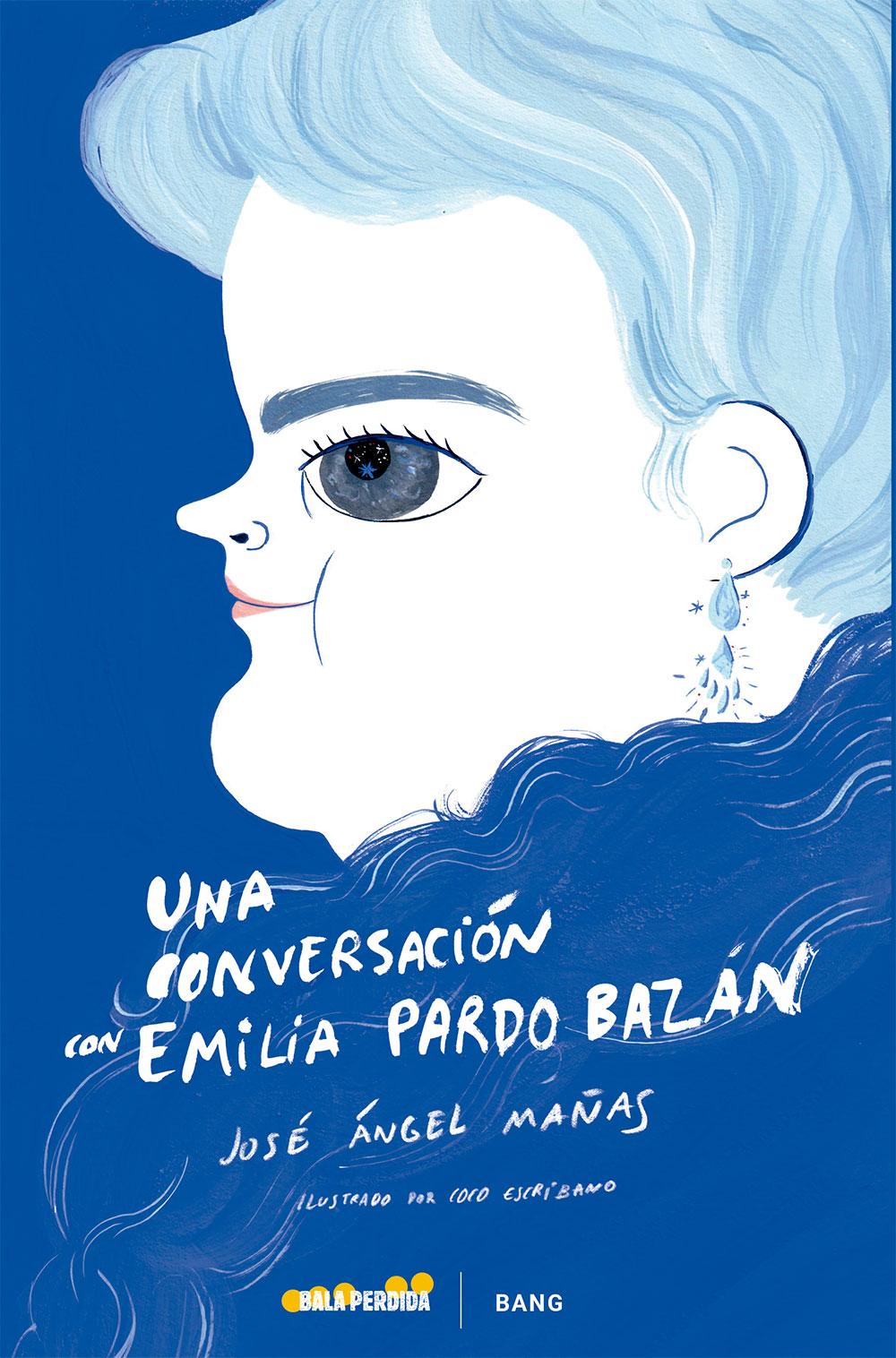 """Portada ensayo """"Una Conversación con Emilia Pardo Bazán"""""""